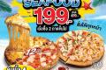 โปรโมชั่น โดมิโน่ พิซซ่า ถาดใหญ่ ถาดละ 199 บาท เมื่อซื้อ 2 ถาดขึ้นไป และ พิซซ่า Quattro Pizza และ โปรโดมิโน่พิซซ่า อื่นๆ ที่ Domino's Pizza วันนี้