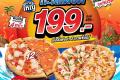 โปรโมชั่น โดมิโน่ พิซซ่า ถาดใหญ่ ราคาพิเศษ 199 บาท เมื่อสั่ง 2 ถาดขึ้นไป และ โปรโดมิโน่พิซซ่า อื่นๆ ที่ Domino's Pizza วันนี้ 1450