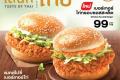 โปรโมชั่น แมคโดนัลด์ เมนูใหม่ เบอร์เกอร์ ไก่กรอบ ซอสสะเด็ด และ เบอร์เกอร์ McSaver Mix & Match ที่ McDonald's วันนี้