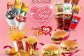โปรโมชั่น แมคเดลิเวอรี่ 4 Love 4 Days 4 ชิ้น 99 บาท จาก แมคโดนัลด์ McDelivery 1711 McDonald's วันนี้ ถึง 14 กุมภาพันธ์ 2563