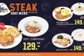 โปรโมชั่น ซานตาเฟ่ สเต๊ก Steak and More สเต๊ก ราคา พิเศษ ที่ Santa Fe' Steak วันนี้ ถึง 18 สิงหาคม 2564
