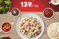 โปรโมชั่น ซิซเล่อร์ สลัดบาร์ ทานได้ ไม่อั้น ราคาพิเศษ 139 บาท ที่ Sizzler วันนี้เป็นต้นไป