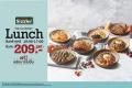 โปรโมชั่น ซิซซ์เล่อร์ Lunch Special จาก Sizzler เมนู สเต็ก สุดคุ้มราคาเริ่มต้นที่ 209 บาท เฉพาะวันจันทร์ - ศุกร์ ตั้งแต่เปิดร้าน - 17.00 น.