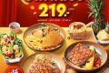 โปรโมชั่น ซิซซ์เล่อร์ Lunch Special เมนู สเต็ก สุดคุ้ม ราคา 219 บาท เฉพาะวันจันทร์ - ศุกร์ ตั้งแต่เปิดร้าน - 17.00 น. ที่ Sizzler