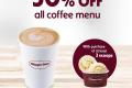 โปรโมชั่น ฮาเก้น-ดาส เครื่องดื่ม กาแฟ ลด 50% เมื่อซื้อไอศกรีม 2 ลูกขึ้นไป ที่ Häagen-Dazs วันนี้ ถึง 31 ตุลาคม 2562