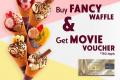 โปรโมชั่น ฮาเก้น-ดาส ซื้อ Fancy Waffle รับฟรี Voucher เงินสด เมเจอร์ ที่ Häagen-Dazs วันนี้ ถึง 31 ธันวาคม 2562