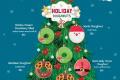 โปรโมชั่น คริสปี้ครีม Holiday Doughnut โดนัท ต้อนรับปีใหม่ และ ไบท์ ไข่เค็มลาวา Salted Egg Bites Doughnut ที่ Krispy Kreme วันนี้