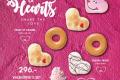 โปรโมชั่น คริสปี้ครีม โดนัทต้อนรับ เทศกาล วาเลนไทน์ และ ตรุษจีน และ Mini Doughnut โดนัท ไซส์มินิ ที่ Krispy Kreme วันนี้ ถึง 28 กุมภาพันธ์ 2562