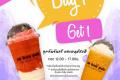โปรโมชั่น โอ บอง แปง เครื่องดื่ม เย็นและปั่น ซื้อ 1 แถม 1 ฟรี ทุกวันจันทร์ และวันพฤหัสบดี เวลา 12:00 – 17:00 น. ที่ Au Bon Pain วันนี้ ถึง 31 กรกฎาคม 2561