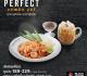 โปรโมชั่น แบล็คแคนยอน Perfect Combo Set ชุดอาหาร สุดคุ้ม เริ่มต้น 189 บาท ที่ Black Canyon วันนี้ ถึง 31 กรกฎาคม 2562