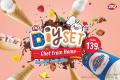 โปรโมชั่น แดรี่ควีน ไอศกรีม DQ DIY Set และ บลิซซาร์ด ซูเปอร์ โอรีโอ ไซส์ XL 1 ฟรี 1 เฉพาะ เดลิเวอรี่ และ เครื่องดื่ม เมนูใหม่ ฟรีซซี่ เฟรปเป้ และ เมนูอื่นๆ ที่ แดรี่ควีน Dairy Queen วันนี้