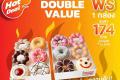 โปรโมชั่น Dunkin Donut ดีดี ดับเบิ้ล แวลู ซื้อ 1 กล่อง ฟรี 1 กล่อง วันที่ 19 ก.ค. และ โดนัท เมนูใหม่ อควาเวิลด์ มหัศจรรย์โลกใต้น้ำ และโปรโมชั่นสุดพิเศษ ที่ร้าน ดังกิ้น โดนัท