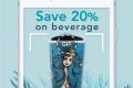 โปรโมชั่น สตาร์บัคส์ รับสิทธิ์ ซื้อ เครื่องดื่ม ลด 50% เมื่อทำตามเงื่อนไข ที่ Starbucks วันนี้ ถึง 7 ตุลาคม 2561