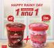 โปรโมชั่น สมาชิก สเวนเซ่น ซื้อ 1 แถม 1 ฟรี ไอศกรีมควอท ในราคาเพียง 259 บาท วันนี้ ถึง 30 กันยายน 2562 สมาชิก Swensen's