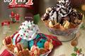 โปรโมชั่น สมาชิก สเวนเซ่น ซื้อ 1 แถม 1 ฟรี ไอศกรีม คริสต์มาส วาฟเฟิล ซันเด หรือ โอรีโอ บราวนี่ส์ วันนี้ ถึง 31 ธันวาคม 2562 ที่ Swensen's