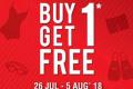 โปรโมชั่น Speedo Buy 1 Get 1 Free สินค้า ซื้อ 1 แถม 1 ฟรี ที่ Speed วันนี้ ถึง 5 สิงหาคม 2561