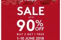 โปรโมชั่น ชุดชั้นใน ไทรอัมพ์ Triumph ลดกระหน่ำกลางปี ลดสูงสุด 90% ที่ ไทรอัมพ์ ช้อป 3 สาขาที่ร่วมรายการ วันนี้ ถึง 10 มิถุนายน 2561