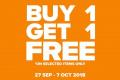 โปรโมชั่น CROCS ซื้อ 1 แถม 1 ฟรี ที่ Crocs Shop วันนี้ ถึง 7 ตุลาคม 2561