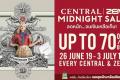 โปรโมชั่น Central / ZEN Midnight Sale ลดสูงสุด 50% ที่ เซ็นทรัล และเซน วันนี้ ถึง 3 กรกฎาคม 2562