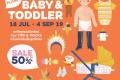 """โปรโมชั่น The Mall KIDS'S PLANET """"BABY&TODDLER สินค้า เด็ก ลดสูงสุด 50% ที่ เดอะมอลล์ วันนี้ ถึง 4 กันยายน 2562"""