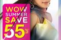 โปรโมชั่น วัตสัน WOW SUMMER สินค้า ลดสูงสุด 55% และ สินค้าแลกซื้อ ลด 50% ที่ Watsons วันนี้ ถึง 22 เมษายน 2563