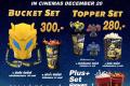 โปรโมชั่น ชุดป๊อปคอร์น ราคาพิเศษ Bumblebee Movie Set , Ralph Break Eater Bucket Set และ ชุดอื่นๆ ที่ โรงภาพยนตร์ในเครือ เมเจอร์ ซีนีเพล็ซ์ Major